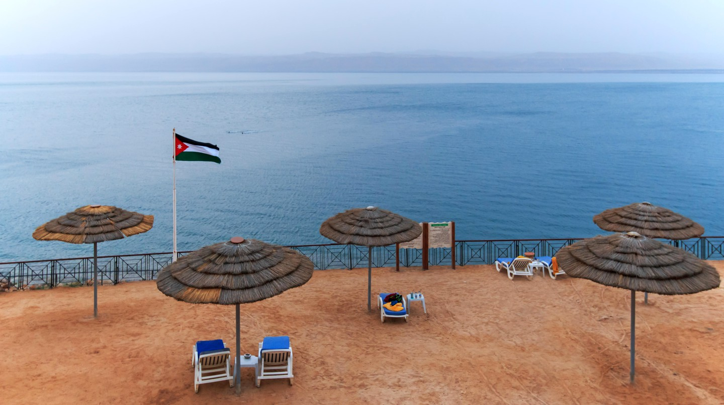 The Dead Sea is a popular day trip from Amman for people looking for a little rest and recuperation