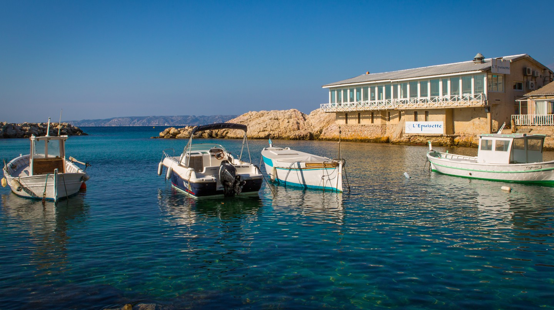 L'Epuisette is just one of Marseille's stunning waterside restaurants