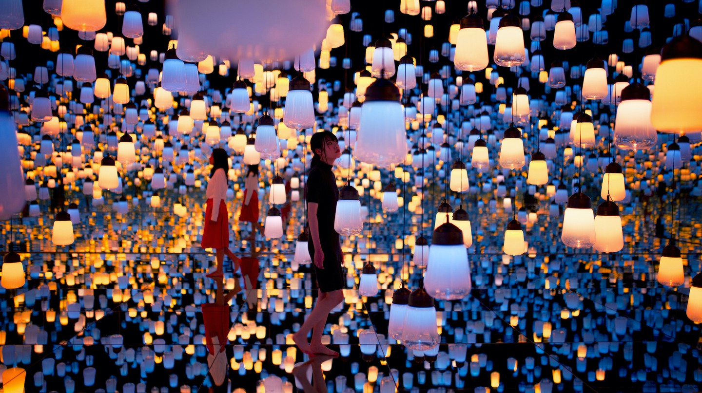 teamLab Planets Tokyo is designed to immerse visitors in a wonderful world of weird