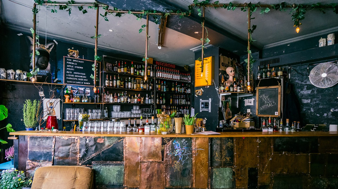 FOX is a welcoming bar with a laid-back vibe in Munich