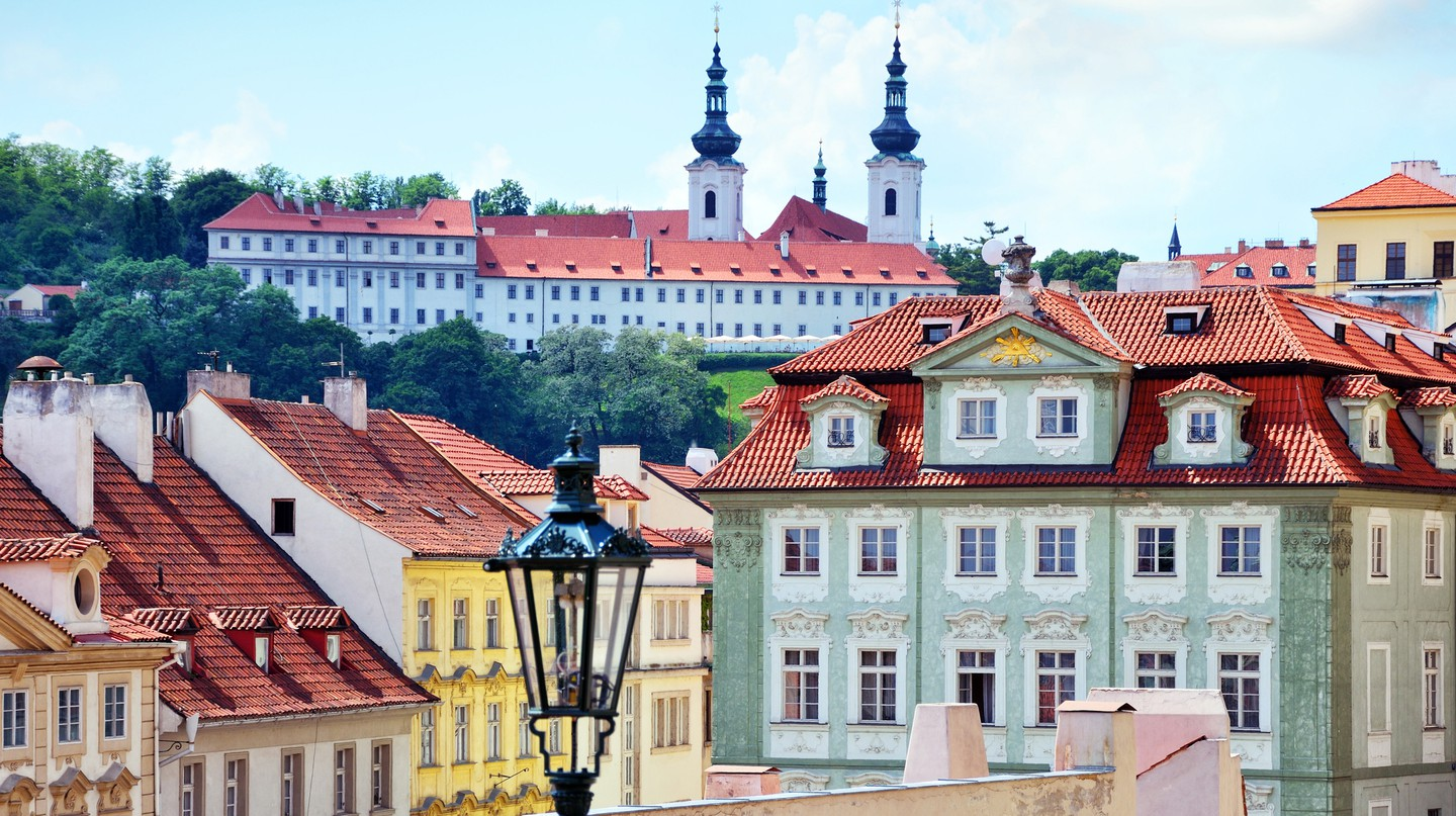 Prague has a lovely selection of stylish homes and architectural delights