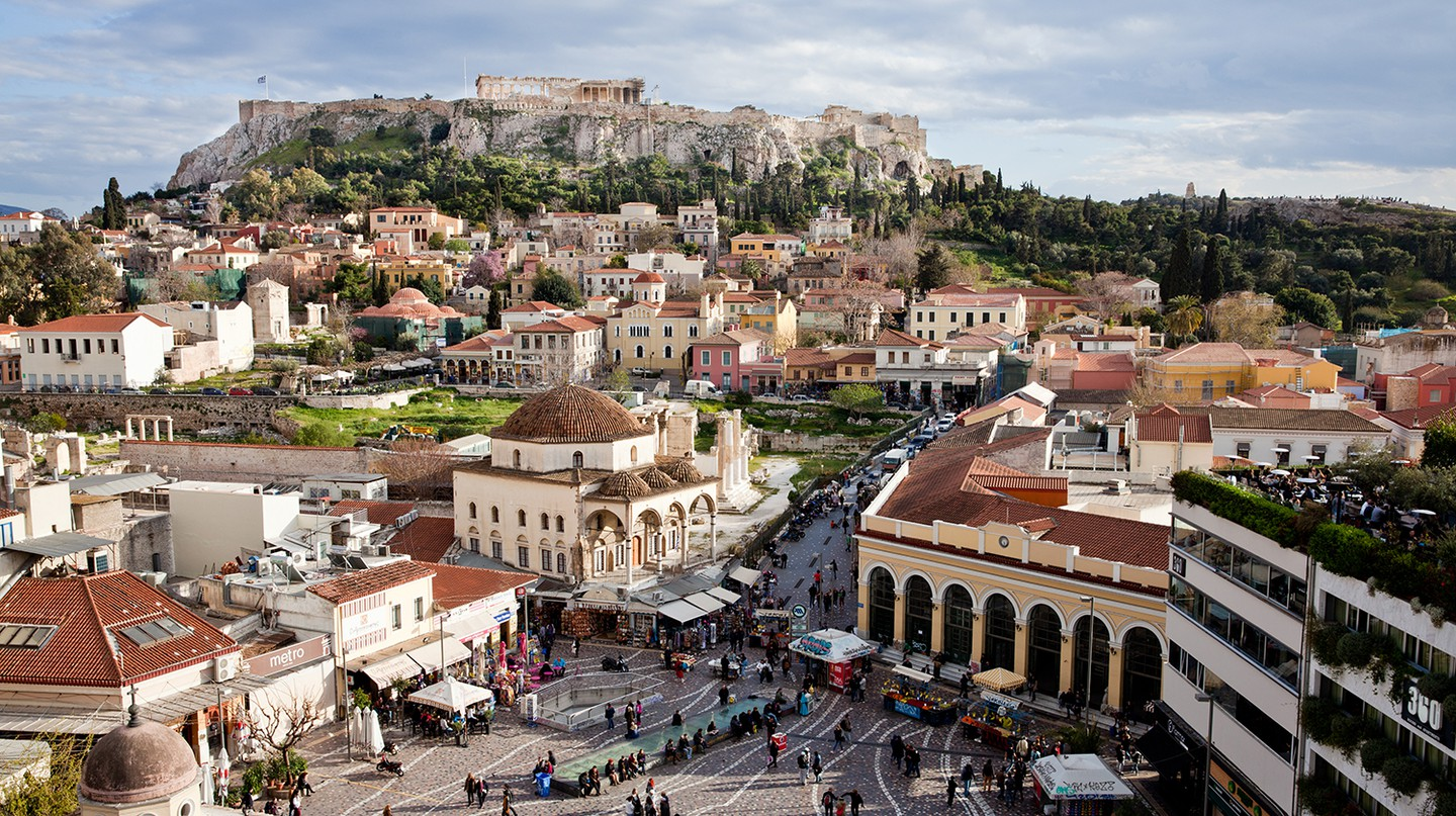See Athens' landmarks in a completely new light