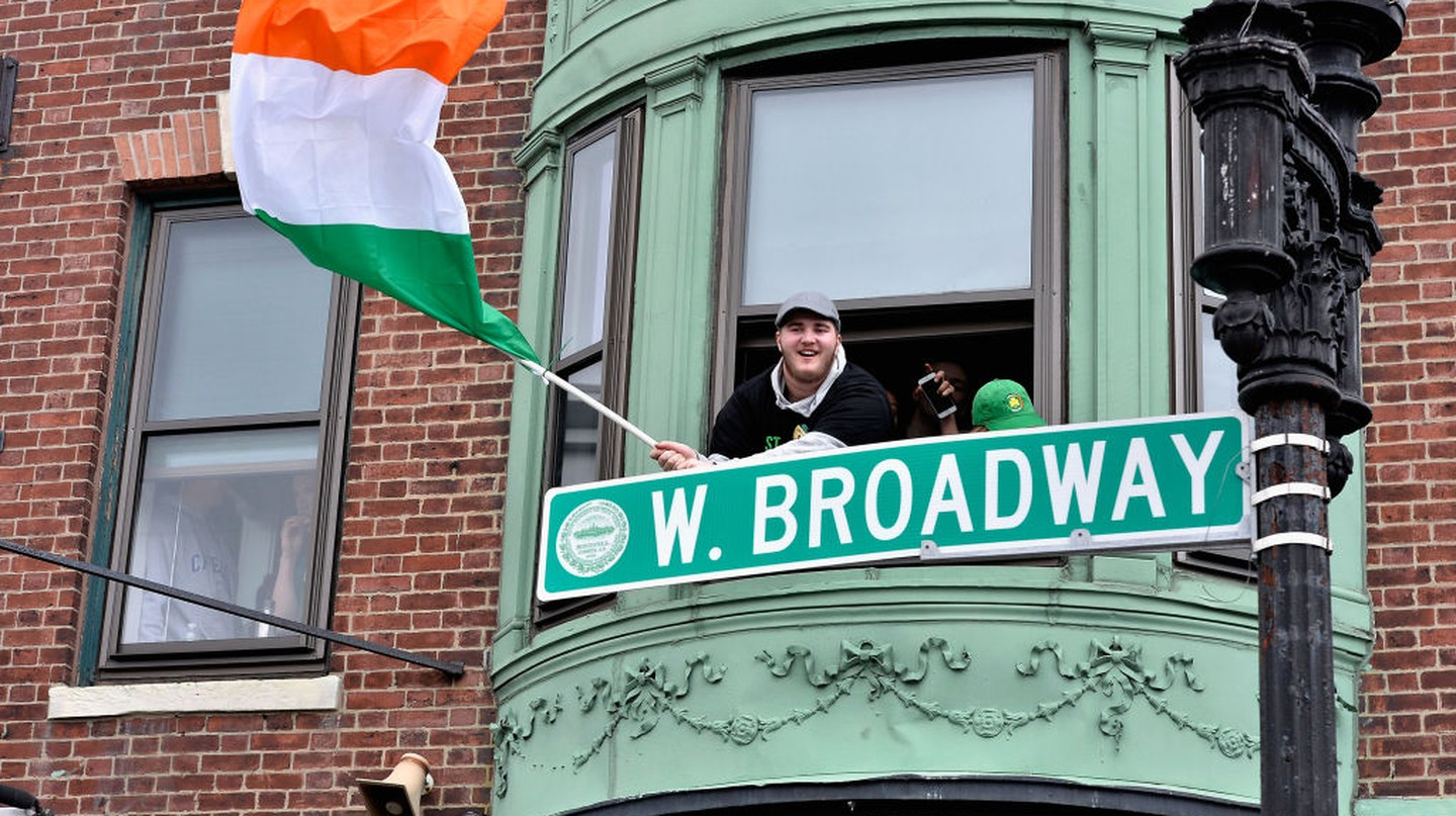 Boston's love of St Patrick's Day can be traced back centuries