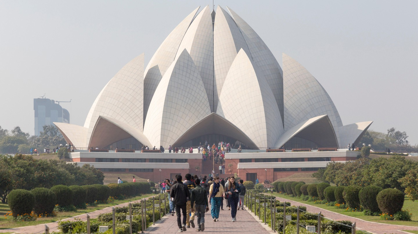 The Lotus Temple, New Delhi