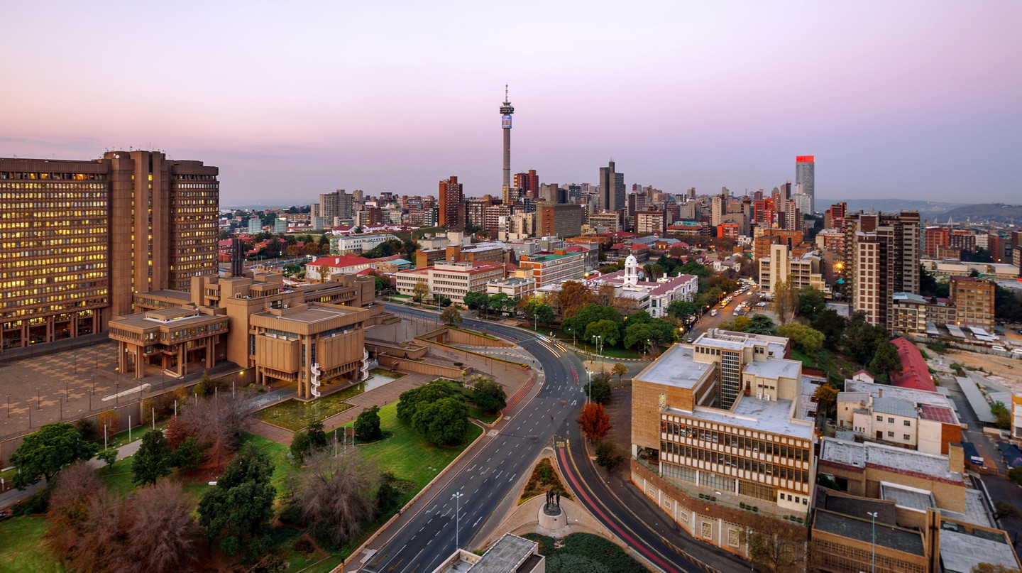 The Hillbrow Tower is an iconic part of the Johannesburg skyline