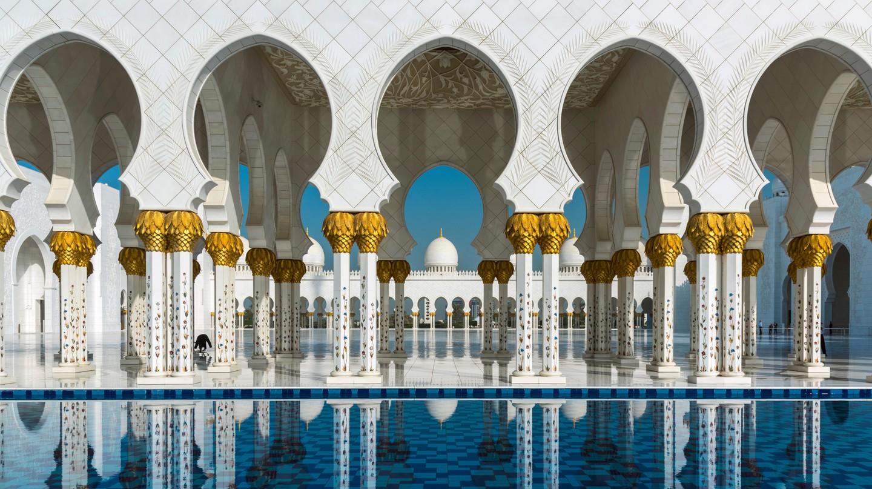 The Sheikh Zayed Mosque, Abu Dhabi
