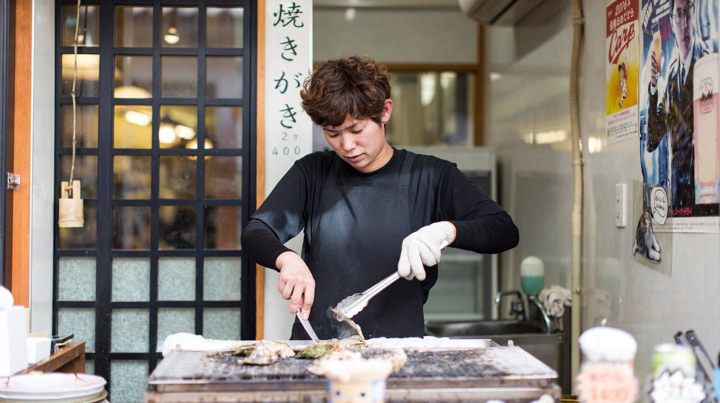 Oysters and eel from Miyajima are celebrated throughout Japan