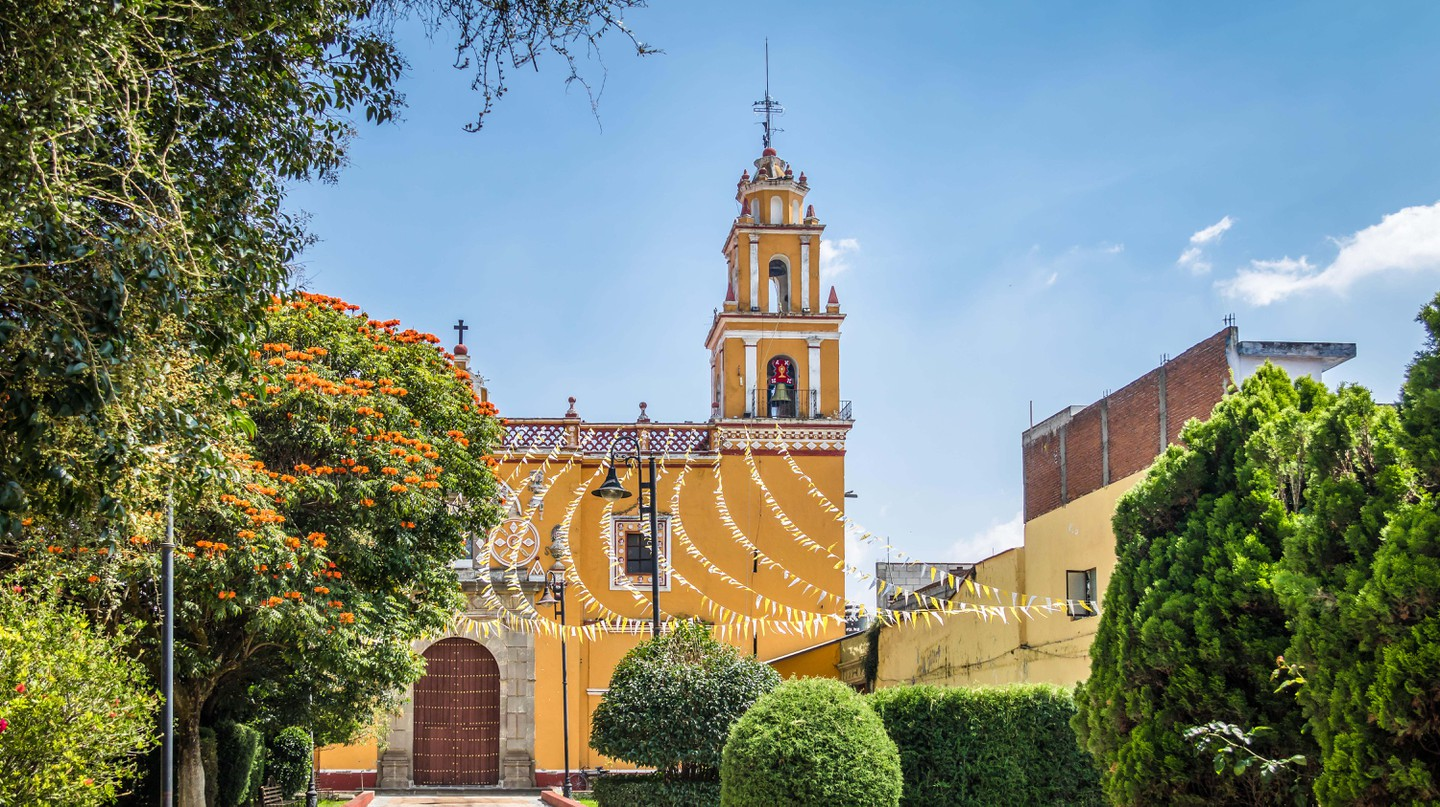 Cholula is one of Mexico's most important colonial towns