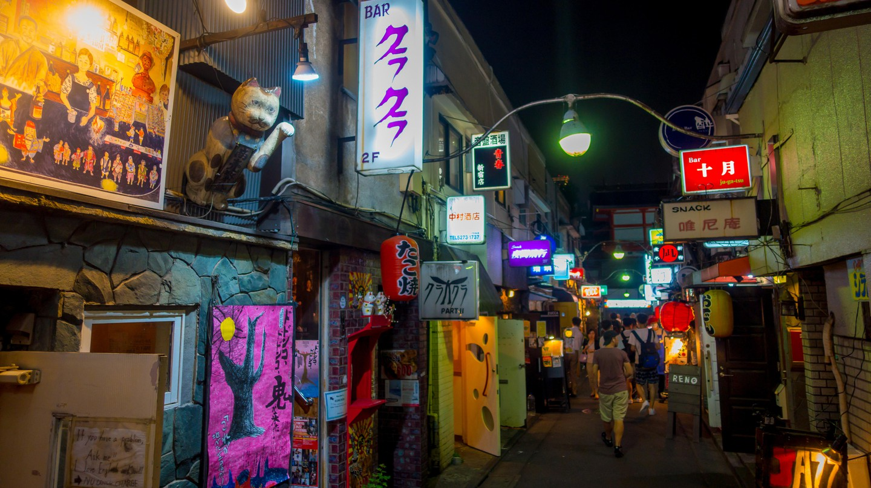 Shinjuku is home to the world-renowned Golden Gai
