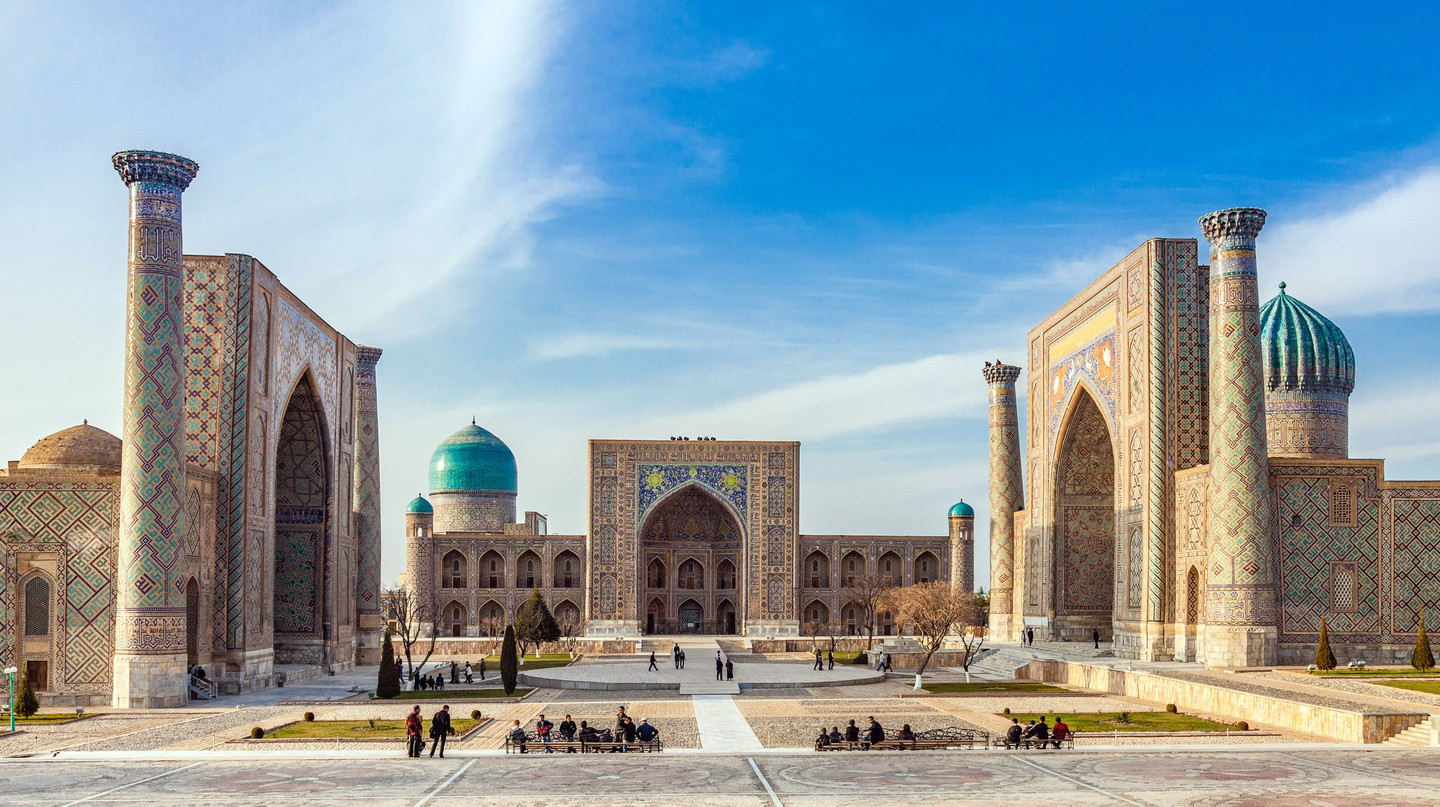 Follow the history of Uzbekistan's capital through its beautiful landmarks