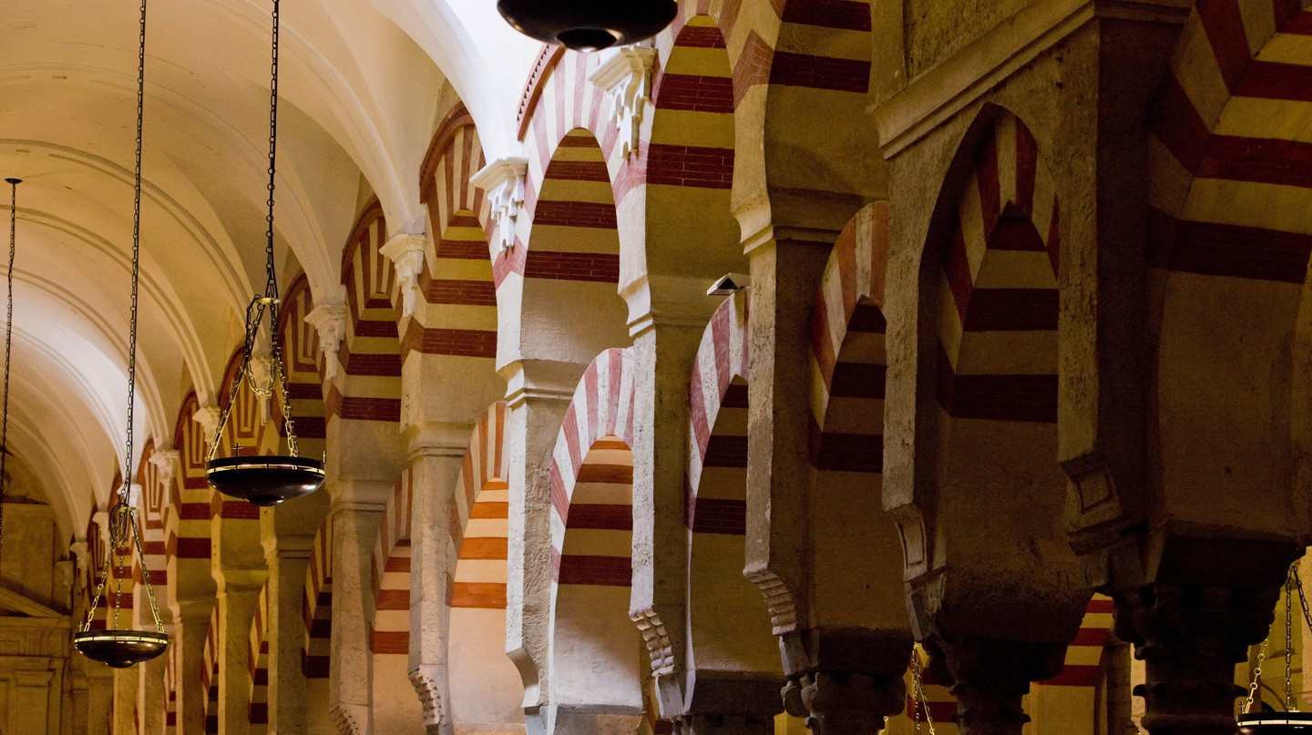The Mezquita in Córdoba is thought  to be the oldest mosque in Europe