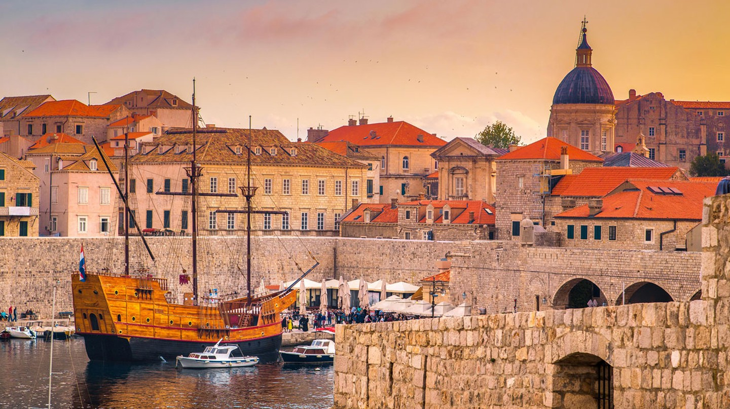 Historic Dubrovnik is one of Croatia's leading foodie destinations