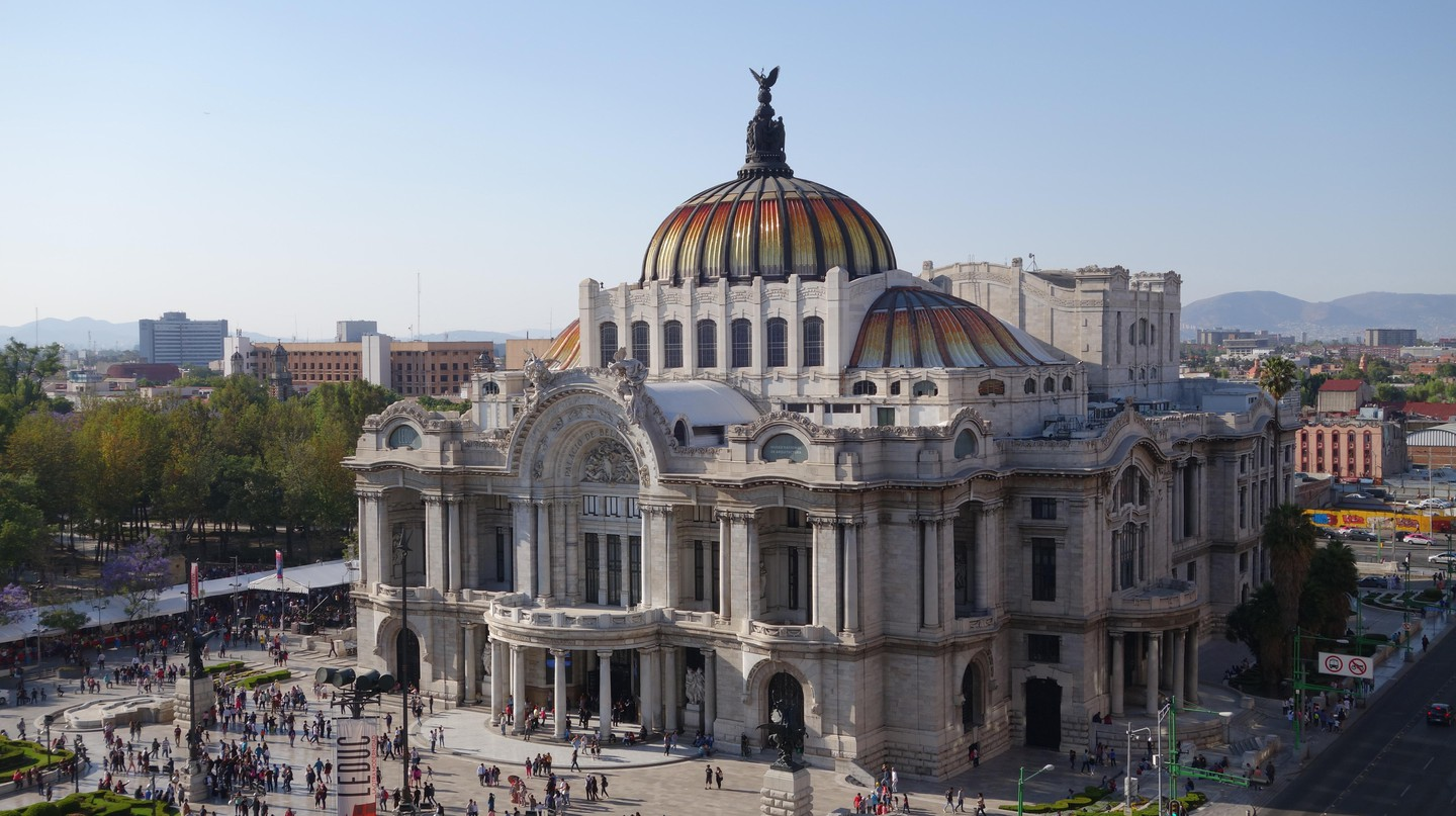 Palacio de Bellas Artes (Palace of Fine Arts), Mexico City, Mexico