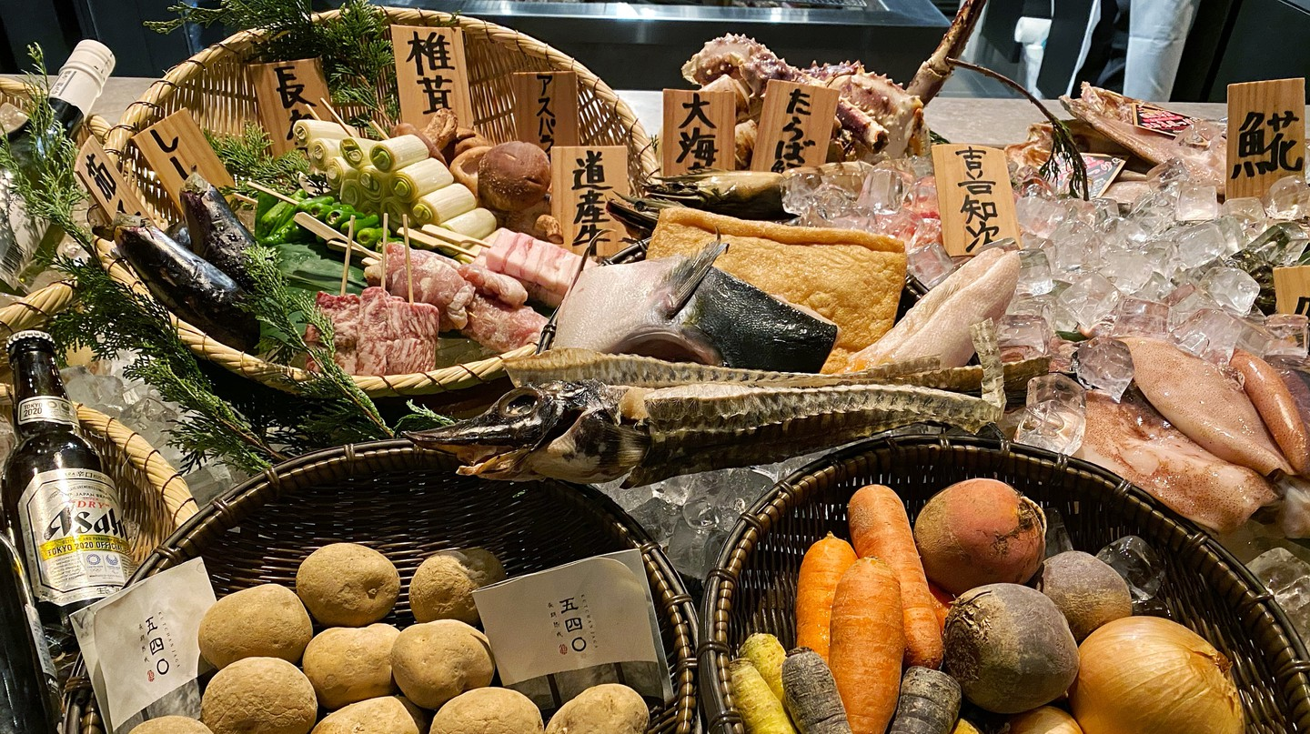 Take your pick of local food in Niseko