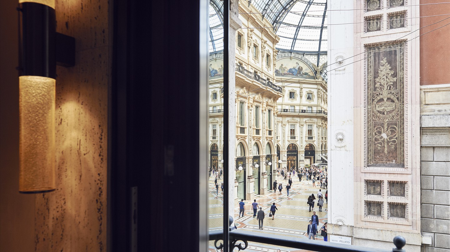 Milan, Italy's fashion capital, is home to many luxury hotels