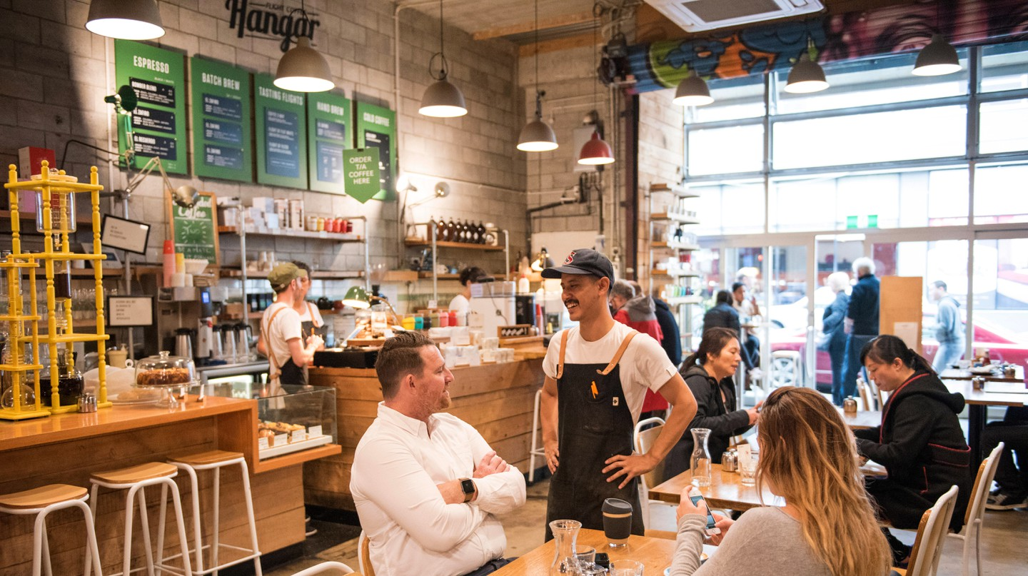 Wellington is a city renowned across New Zealand for its booming café culture