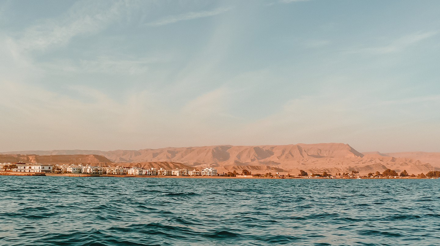 Ain Sokhna is a favourite among Cairenes who want a beachside break