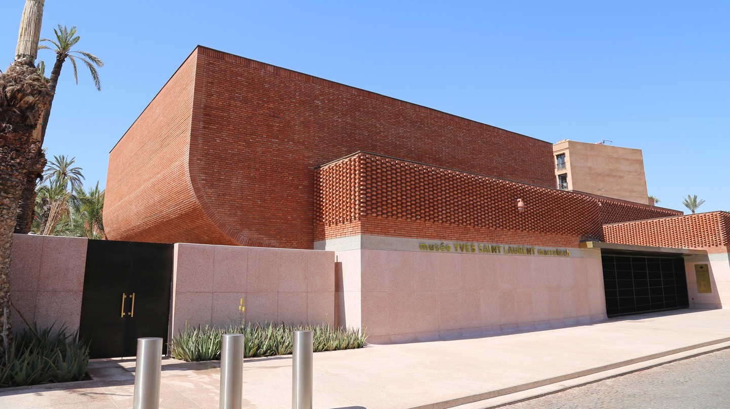 The Yves Saint Laurent Museum is just one example of Marrakech's modern architecture