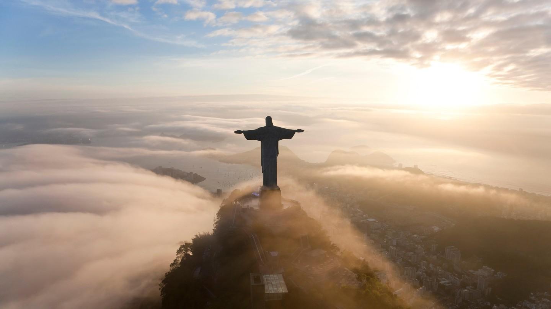 Cristo Redentor on Corcovado mountain, Rio de Janeiro