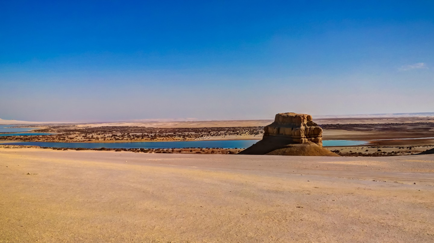 Wadi El Rayan in the Fayoum desert is a protected area due to its natural beauty