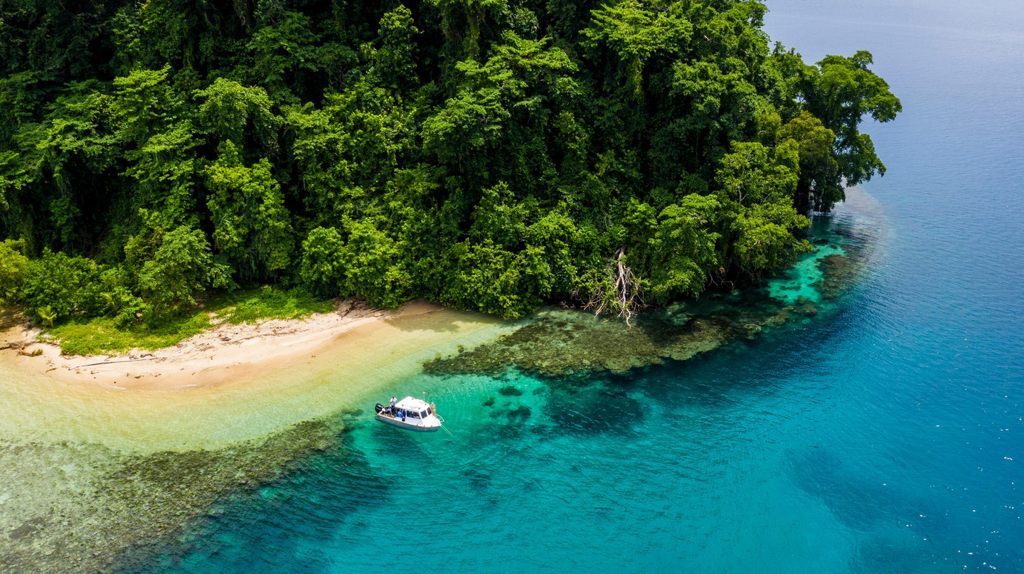 Top attractions around Kimbe include the idyllic paradise of Restorf Island