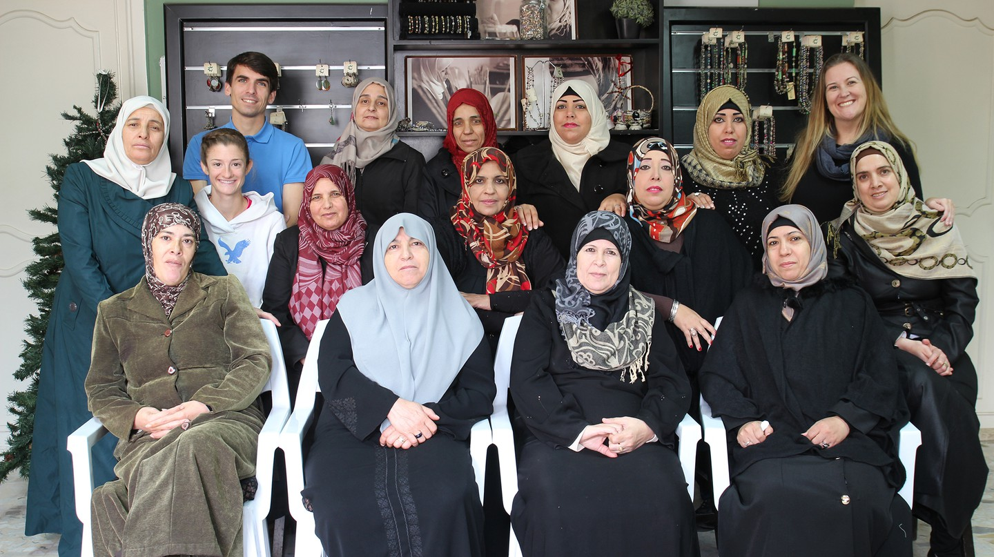 The women of Green Creations in Aqaba