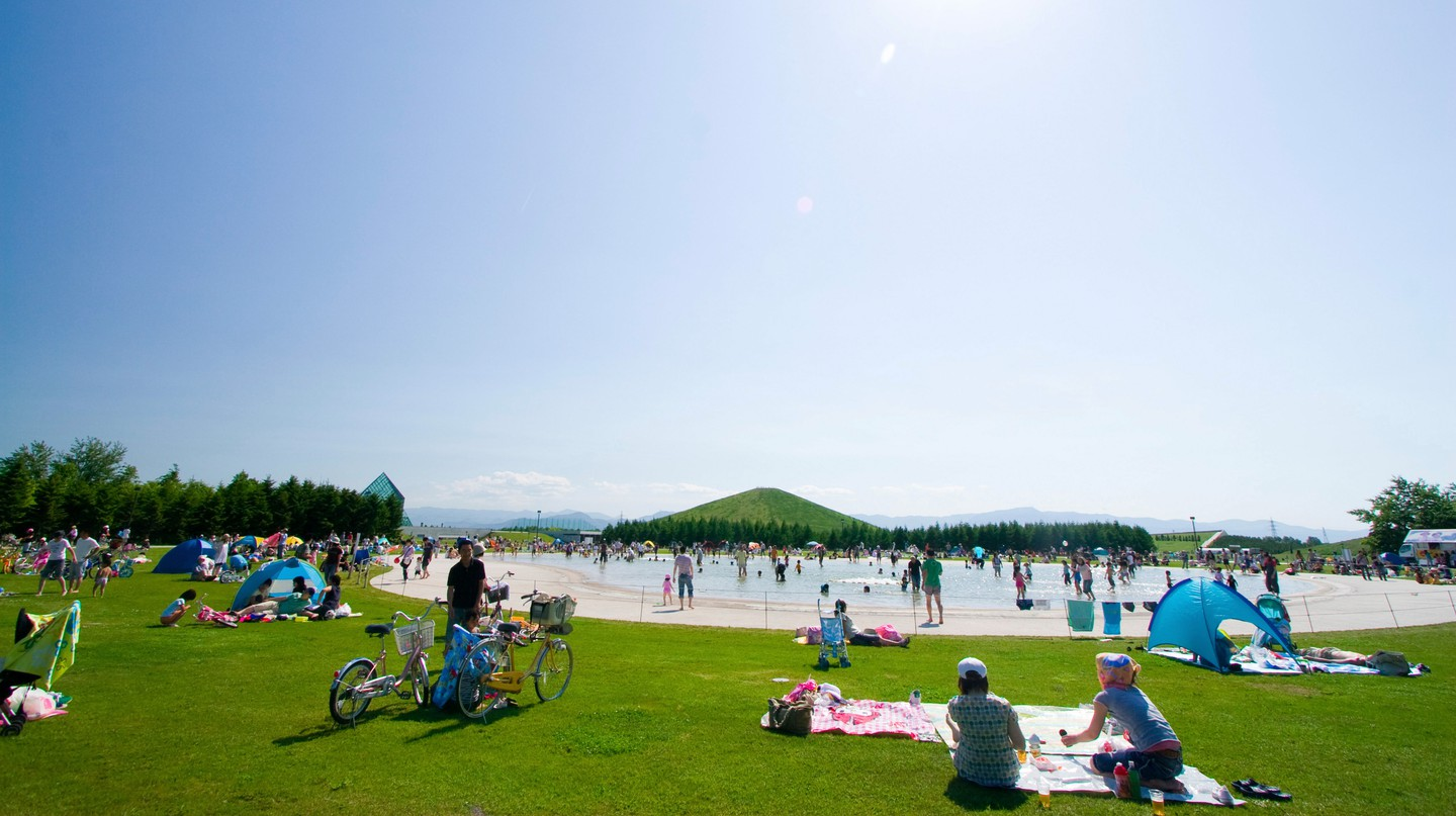 Moerenuma Park is the perfect destination for a fun-filled family day out