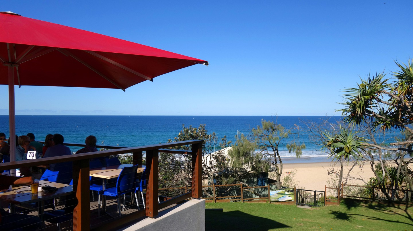 Brunch takes place at the ideal time of day to really soak up all the warmth of the Sunshine Coast