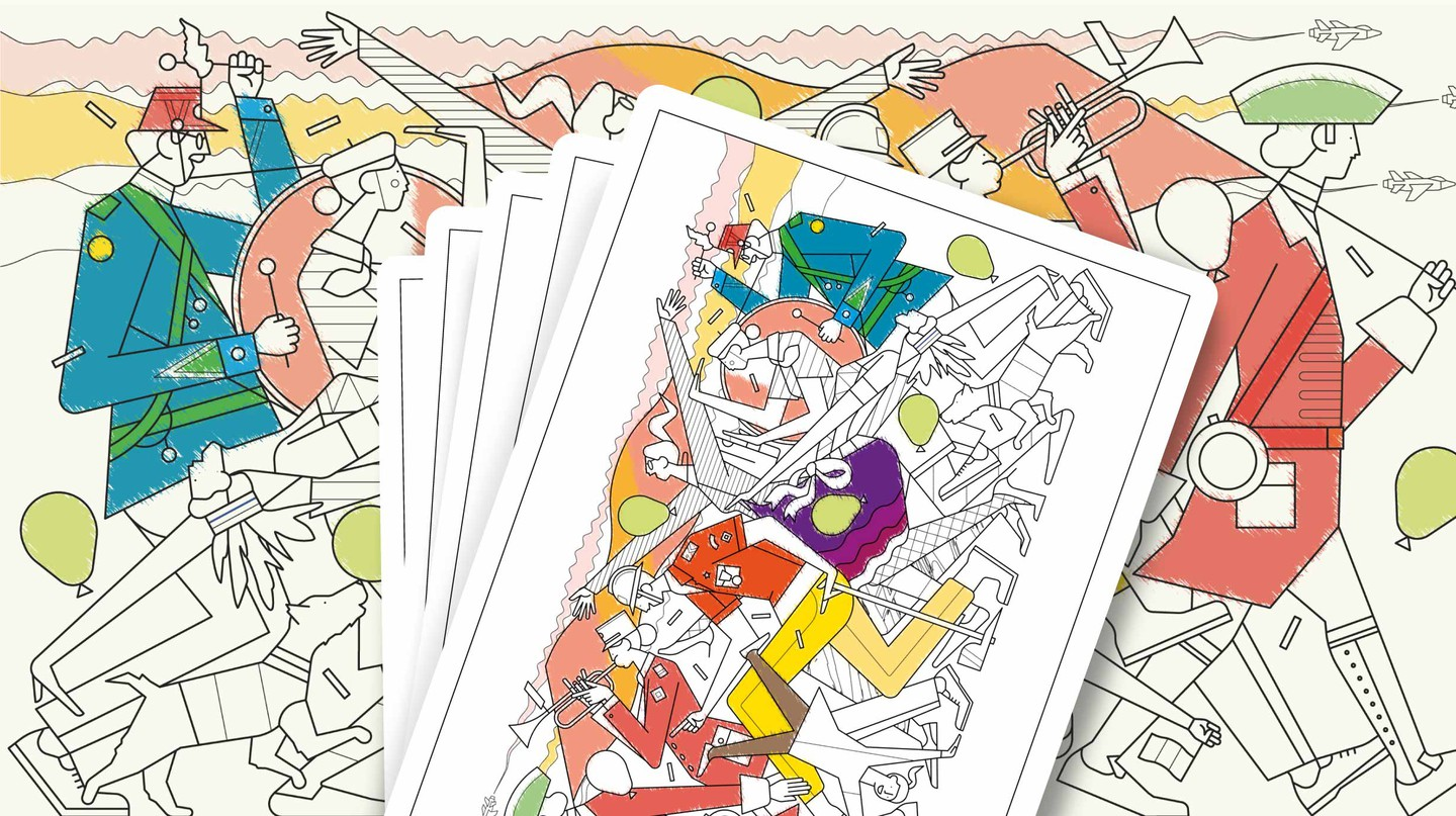 Let Your Mind Roam Free With Our Travel-Inspired Colouring Pages