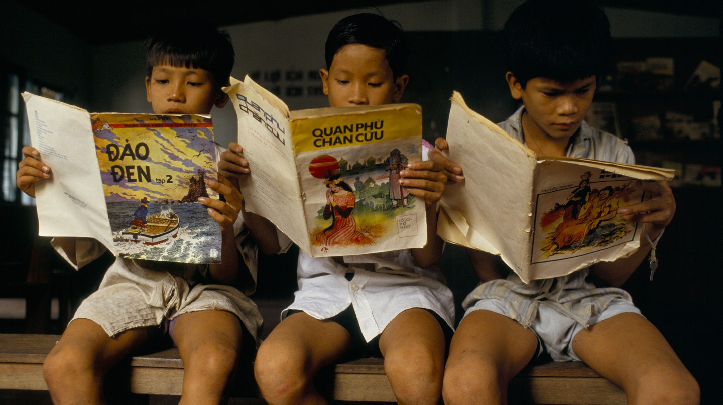 Delve into the cultural fabric of Vietnam through graphic novels
