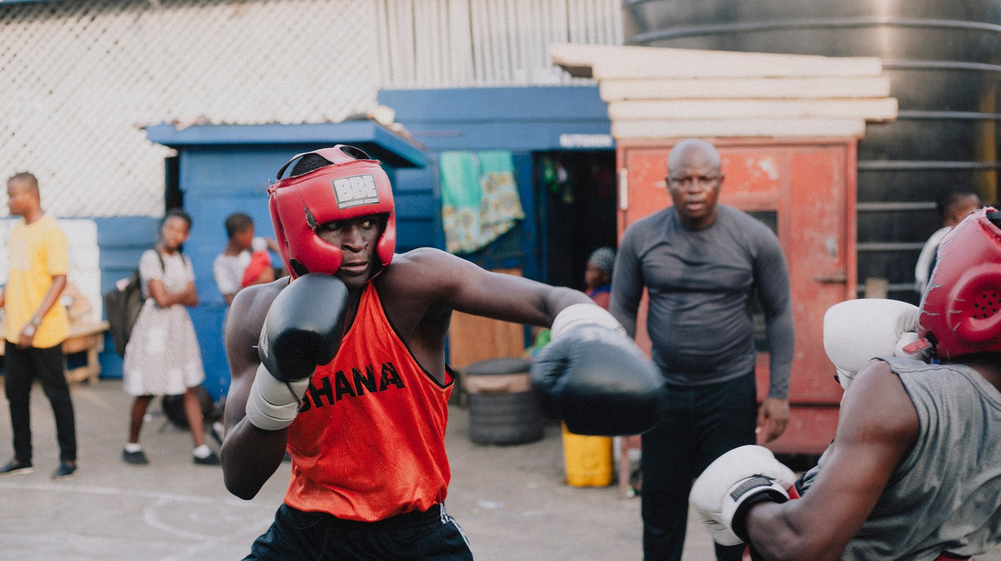 The small Ghanaian community of Bukom has produced more than its fair share of world-champion boxers