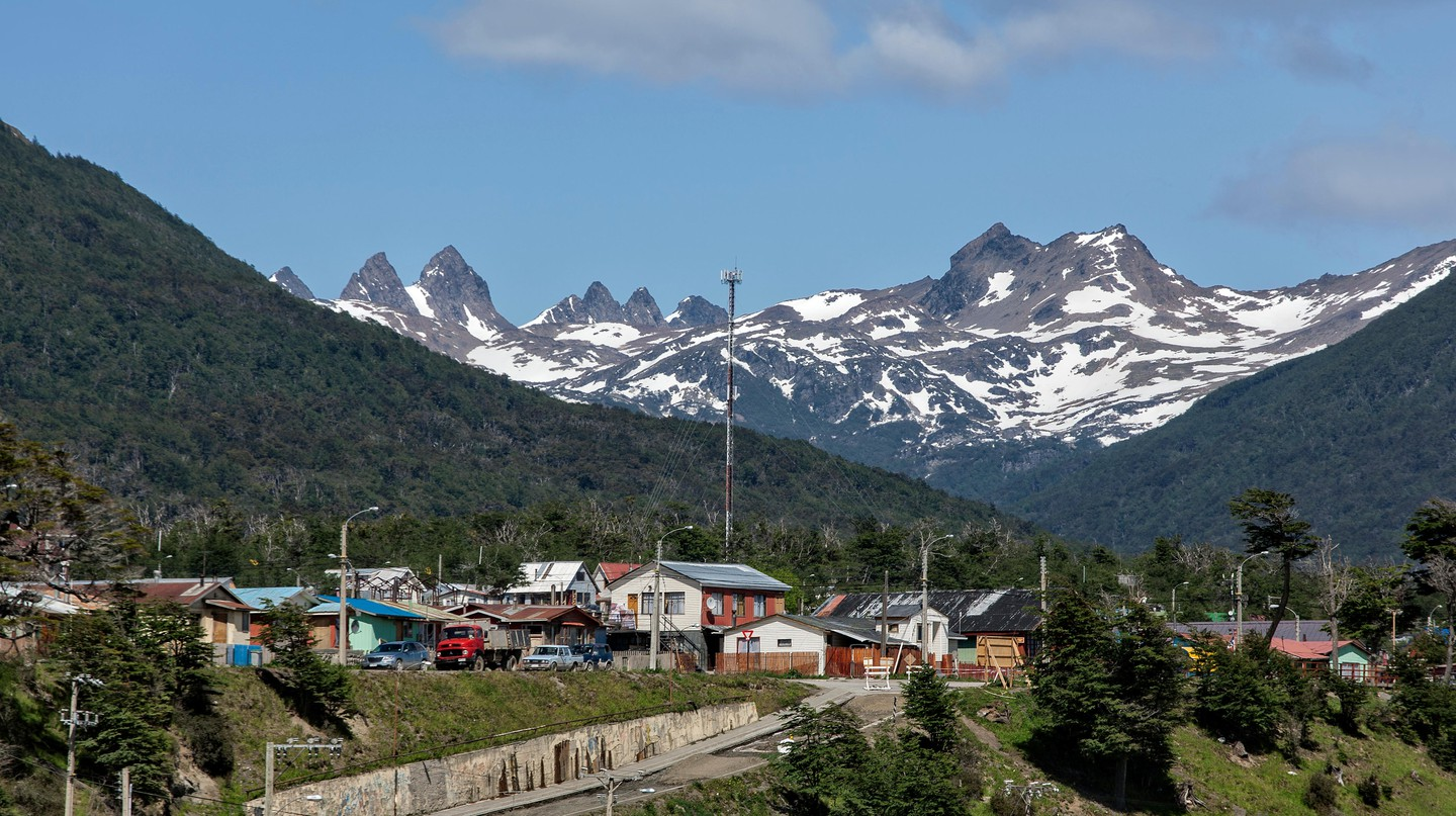 While classified as a city, Puerto Williams, the world's southernmost city, is more like a small town