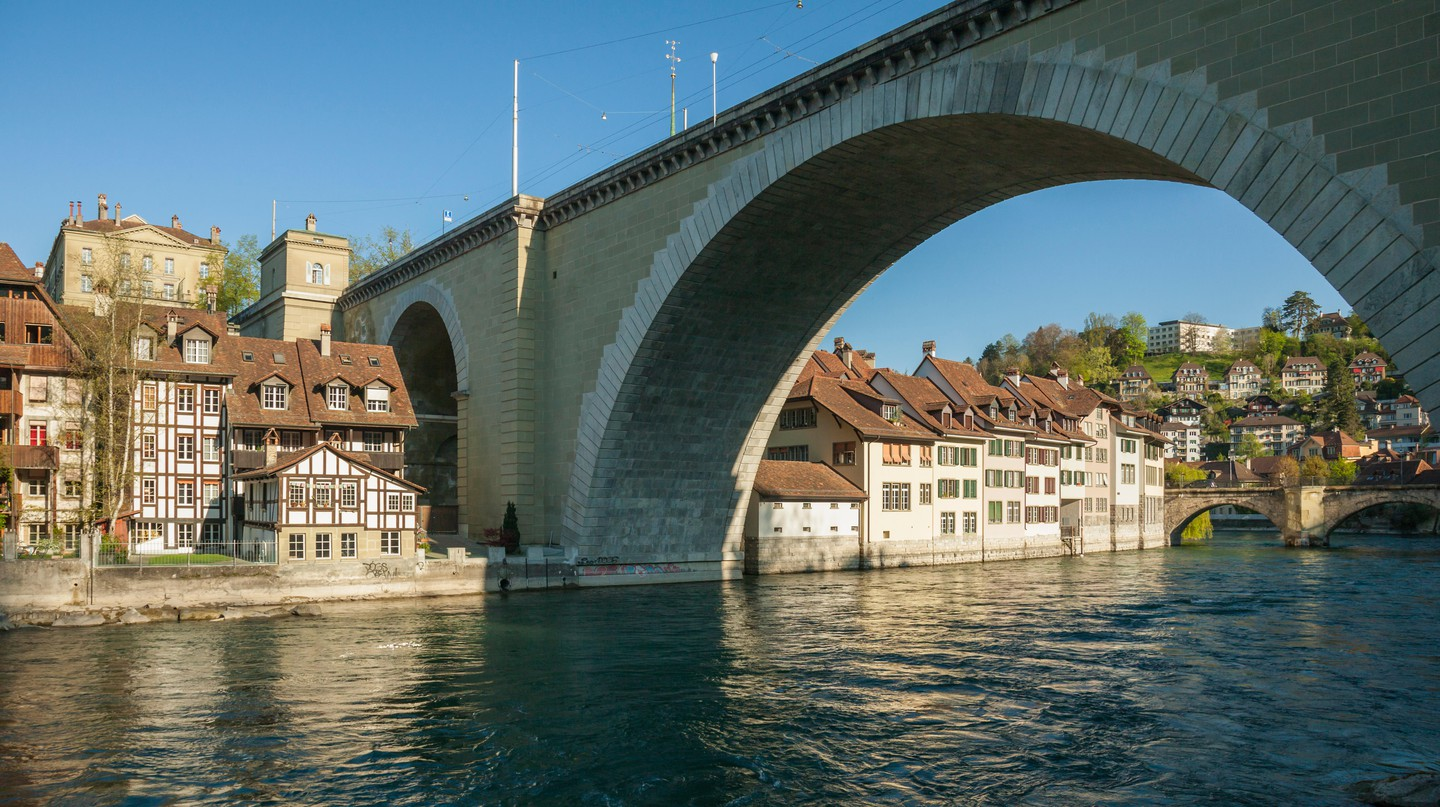 Bern is an intriguing stop for anyone following in the footsteps of 007