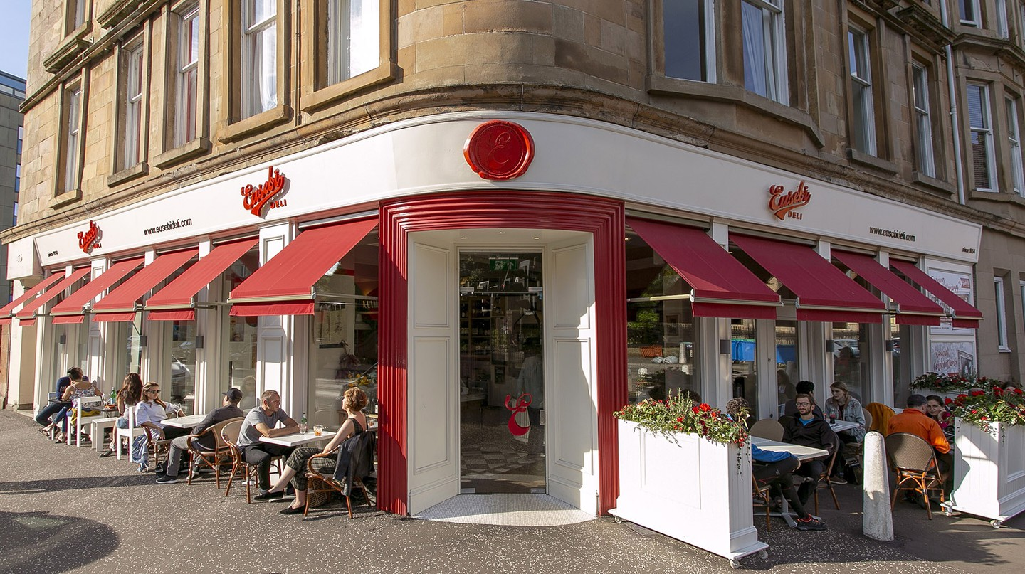 Eusebi's Deli is a popular family-owned eatery bringing authentic Italian food to Glasgow