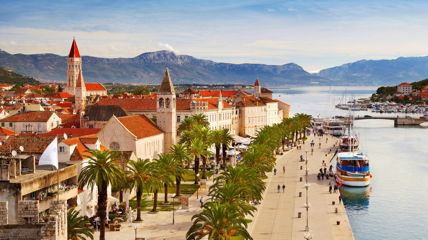 Explore the historic architecture of Trogir, easily accessed from Split