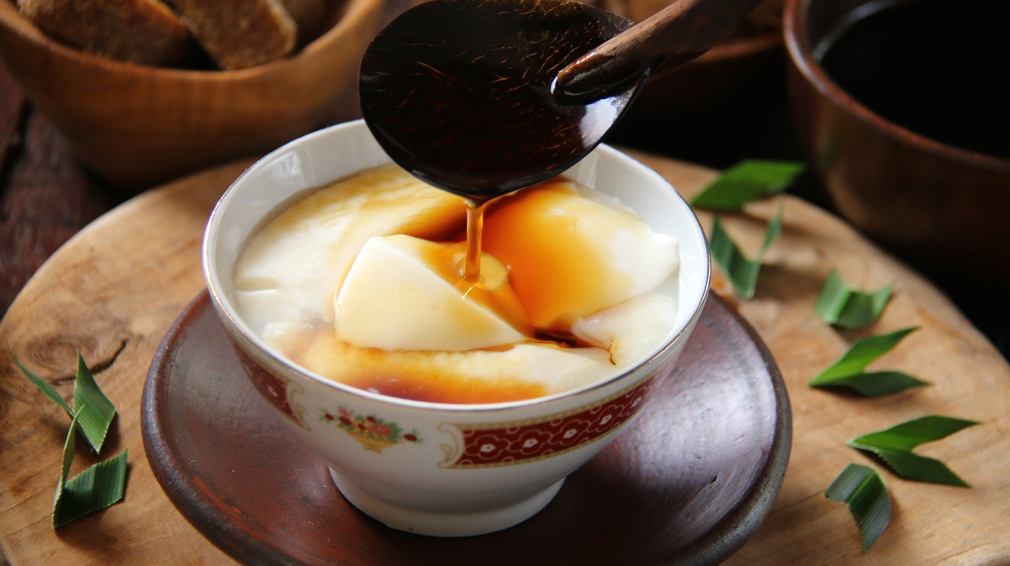 Douhua is also known as tofu pudding