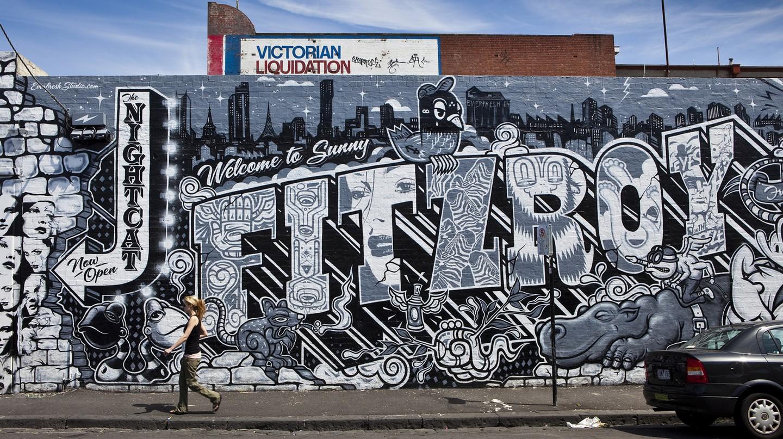 Discover Fitzroy, the most progressive quarter of Australia's most cosmopolitan city