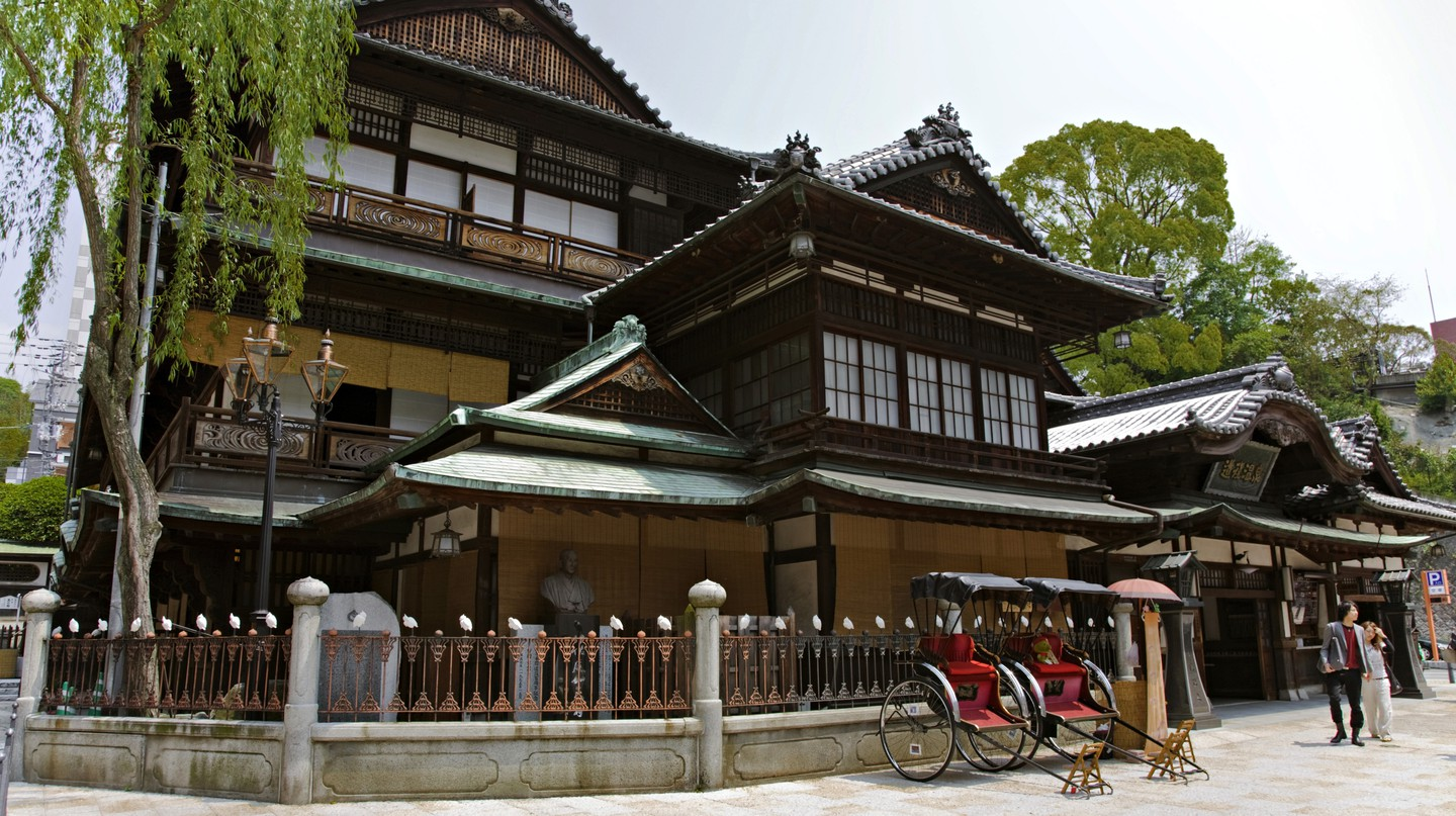 Dogo Onsen in Matsuyama is said to be Japan's oldest hot spring