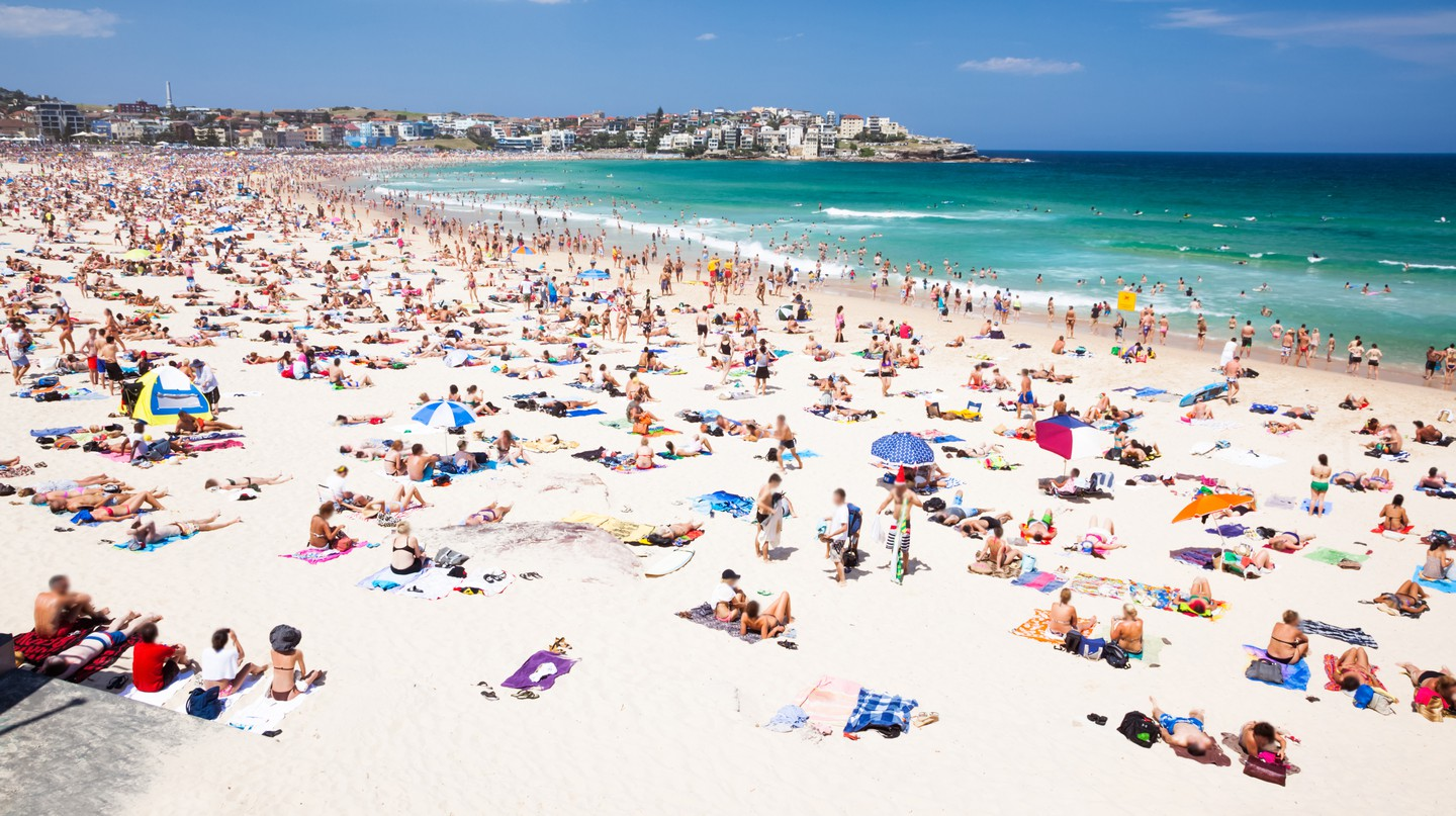 Bondi Beach in Sydney is a popular tourist destination
