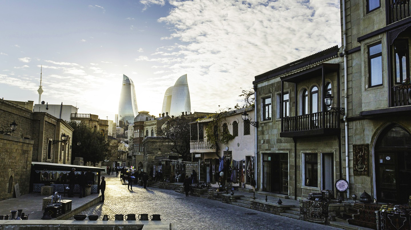 Baku is a wonderful mix of old and new