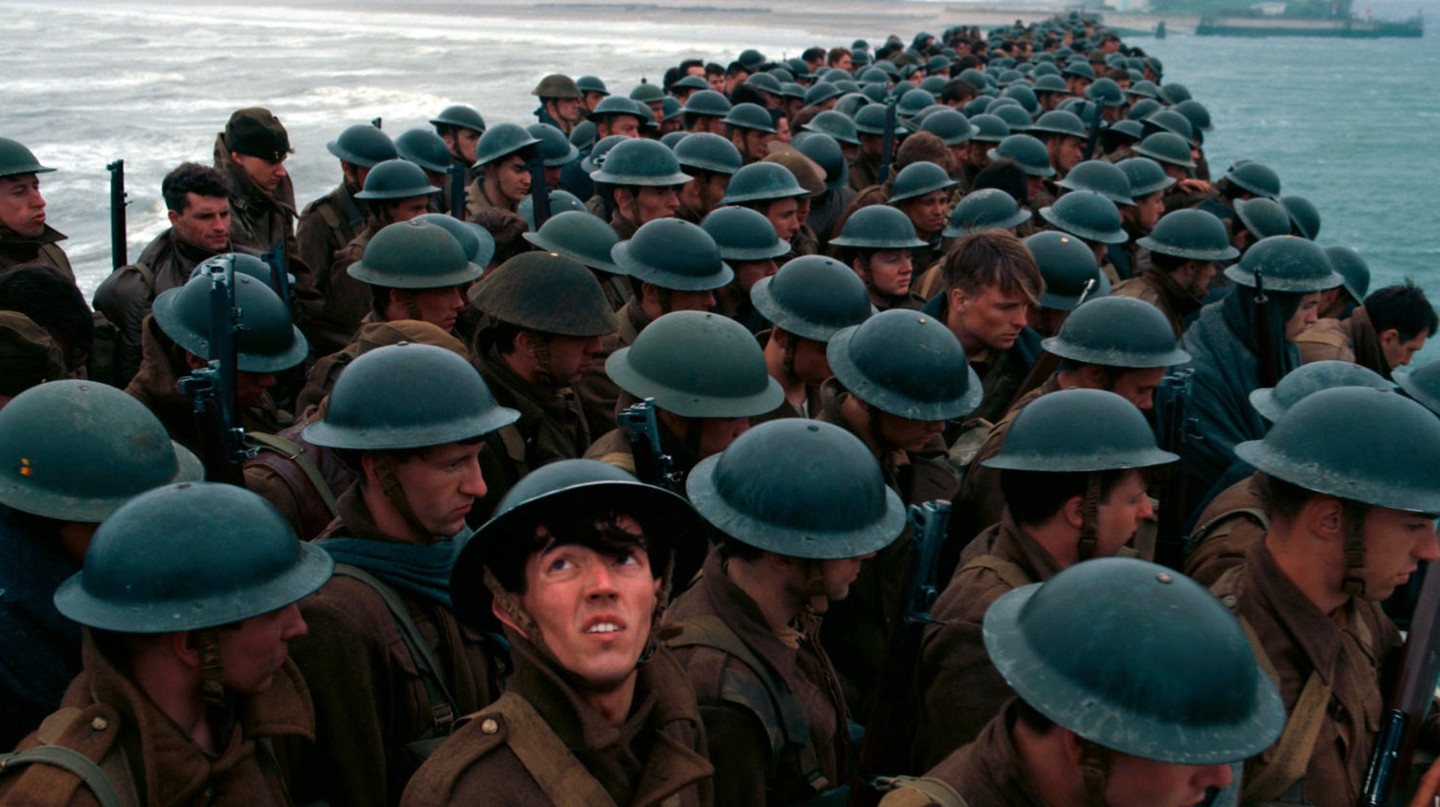 'Dunkirk' (2017) follows the WWII rescue mission in northern France