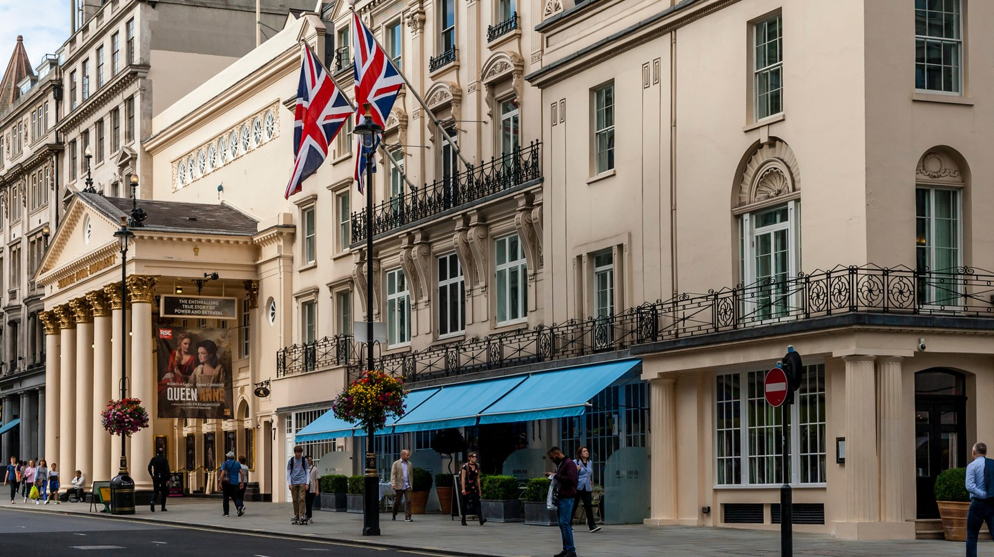 The West End is home to a world-famous theatre scene