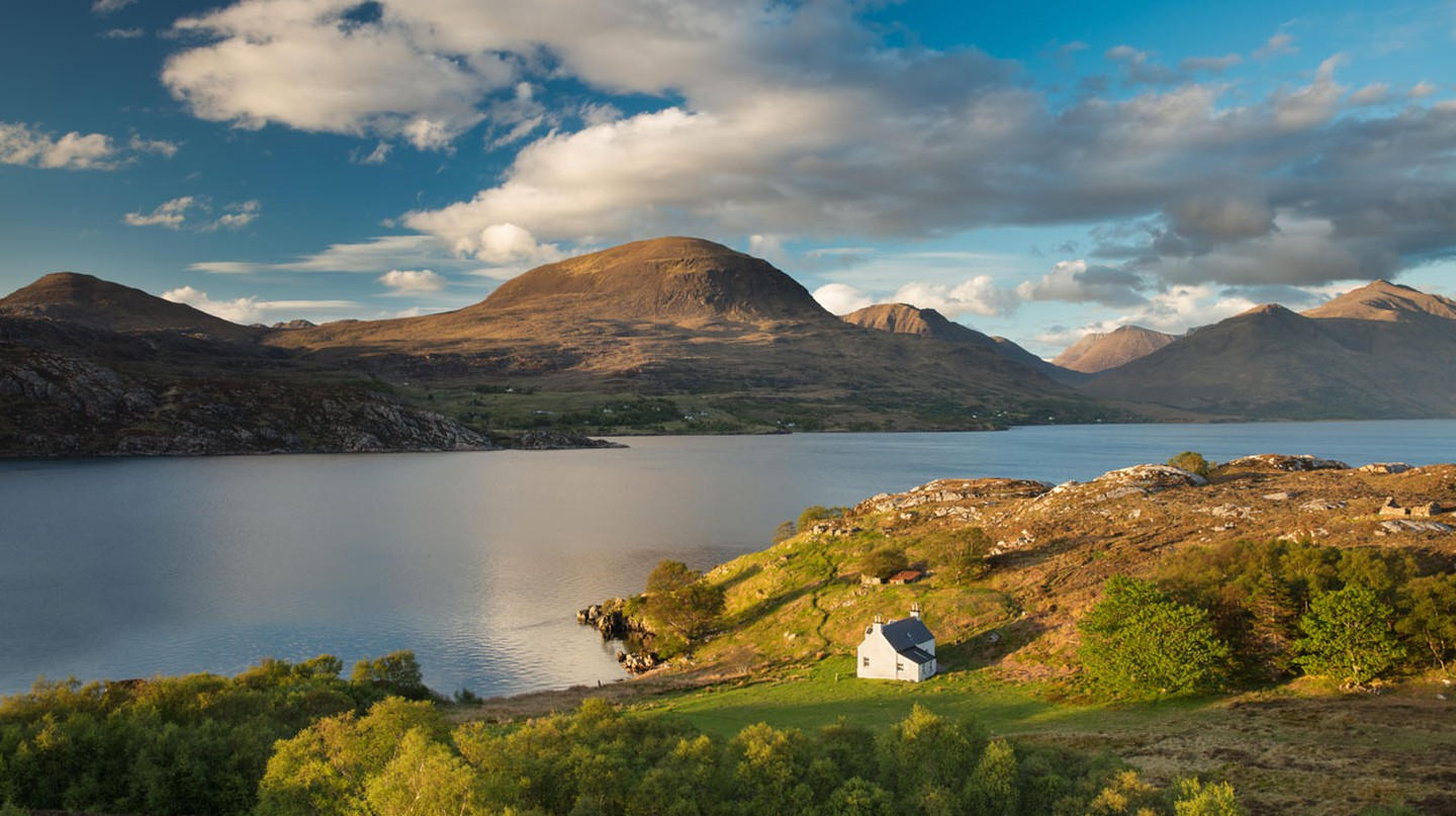 Although we can't currently see vistas like this in person, we can still experience the beauty of Scotland from home