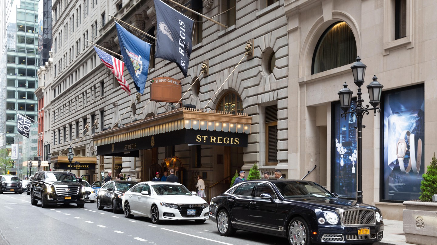NYC's most famous hotels are known for their luxury and high-profile clientele