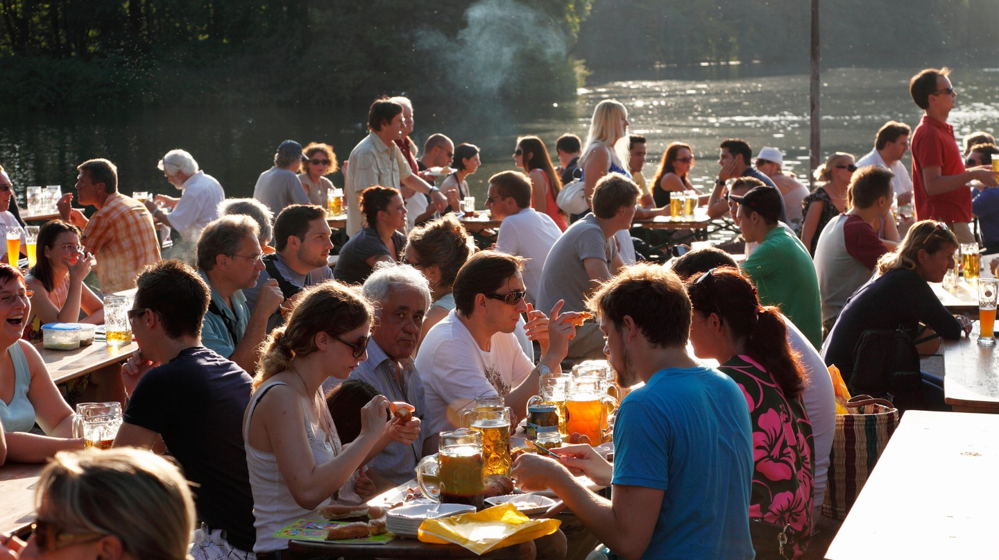 You just can't go to Munich – particularly in the summer – without spending some time in a beer garden