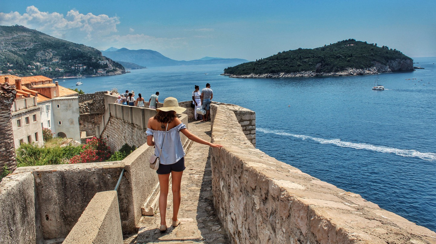 Dubrovnik is a walkable city with easily accessible nearby sights