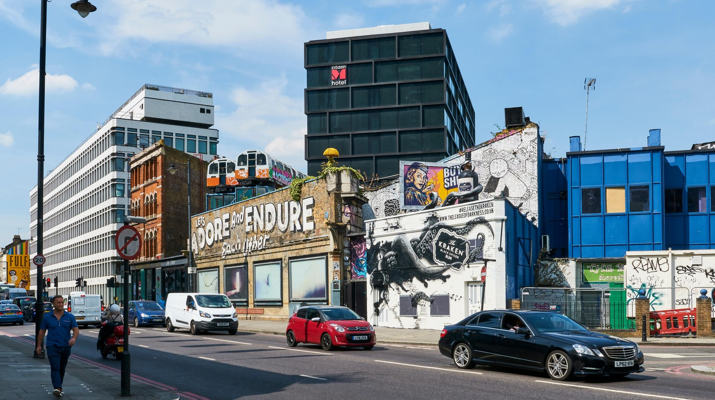 Shoreditch is a London hotspot for head-turning street art and murals