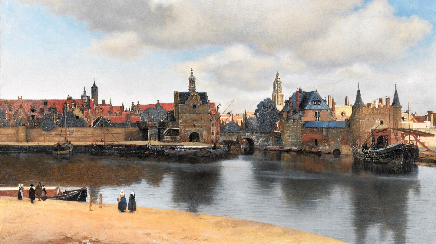 View of Delft by Johannes Vermeer