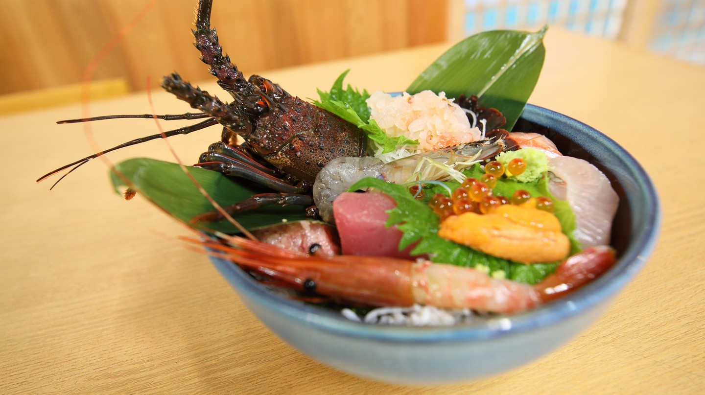 Don't leave Hakodate without trying kaisendon, which features sushi rice topped with seafood