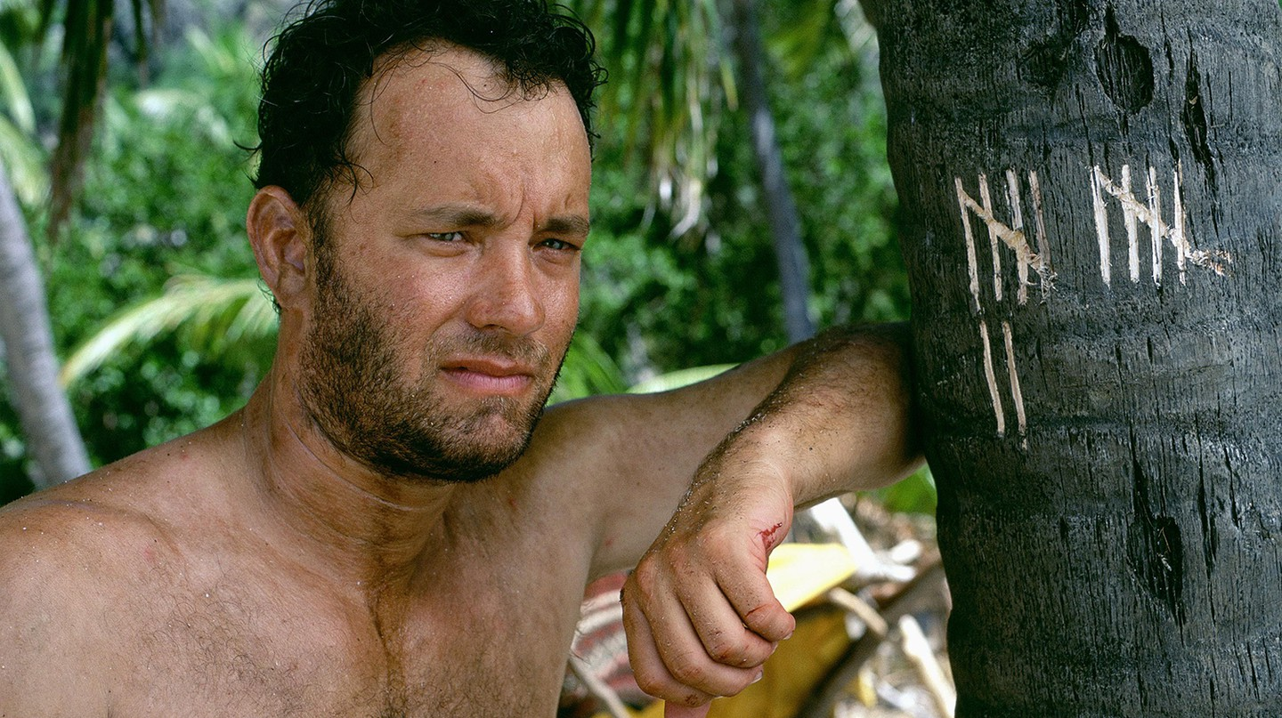 Tom Hanks copes with isolation in 'Cast Away'